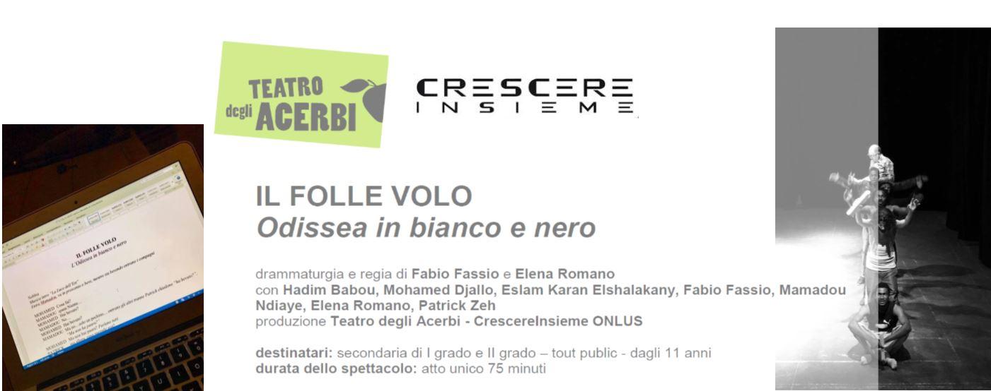 IL FOLLE VOLO - 4 e 5 Aprile - Teatro degli Acerbi, ASTI