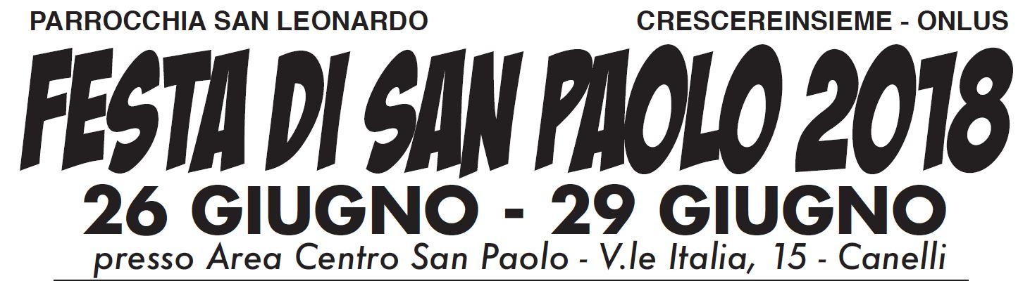 Festa di San Paolo 2018