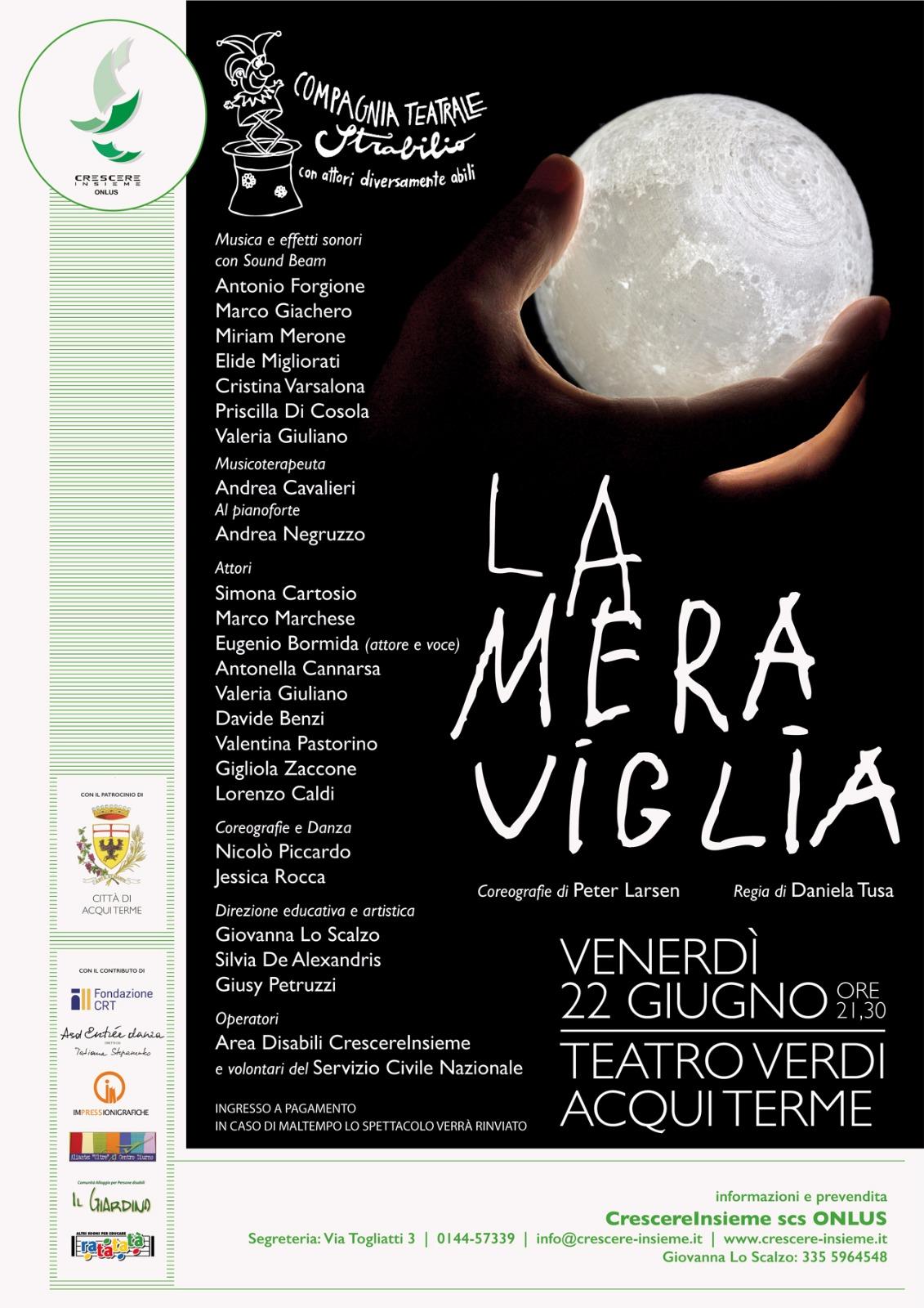LA MERAVIGLIA: spettacolo teatrale della compagnia Strabilio