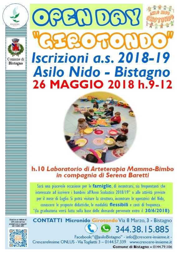 Open Day @ GIROTONDO di Bistagno