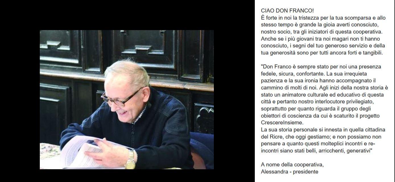 ciao don FRANCO!